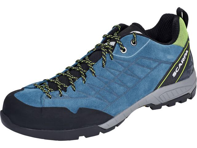 Scarpa Epic Shoes Herren lakeblue/lime